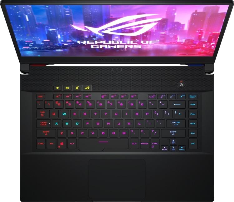 От 139 990 рублей: мощный ноутбук ASUS ROG Zephyrus S GX502 для игр и работы