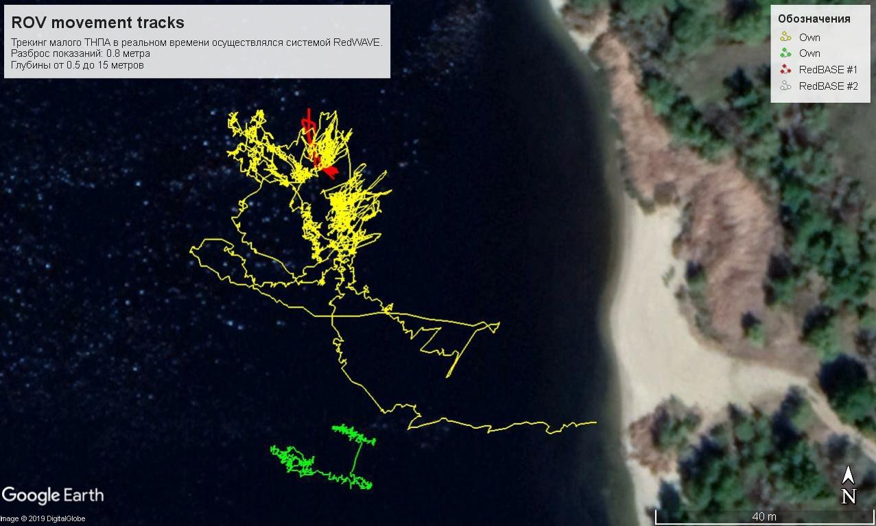 Подводный GPS на подводном роботе: опыт использования - 20