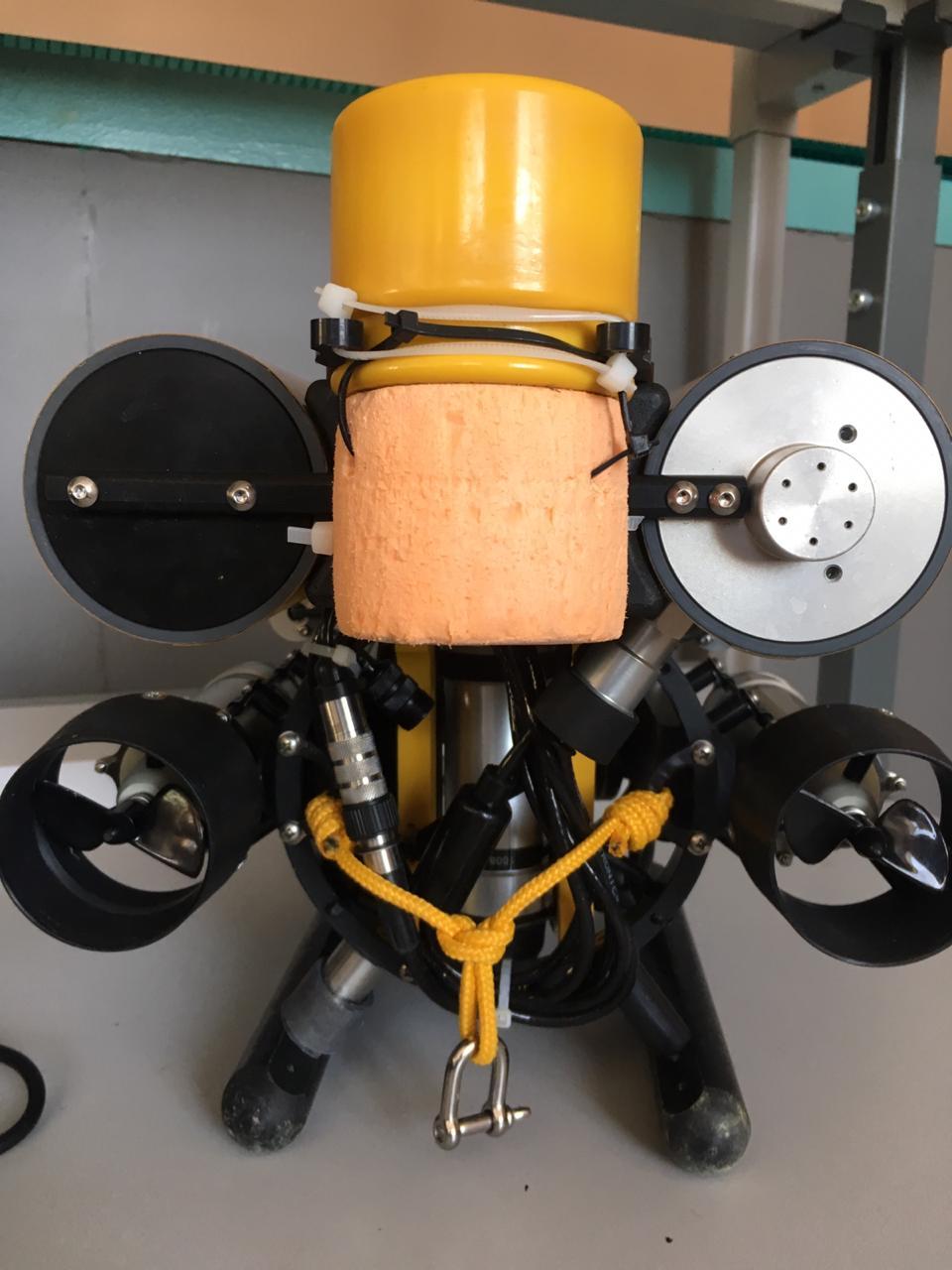 Подводный GPS на подводном роботе: опыт использования - 4