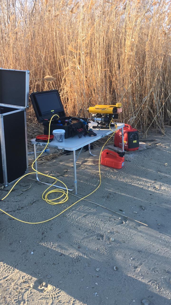 Подводный GPS на подводном роботе: опыт использования - 7