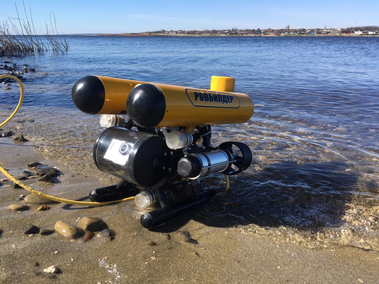 Подводный GPS на подводном роботе: опыт использования - 1
