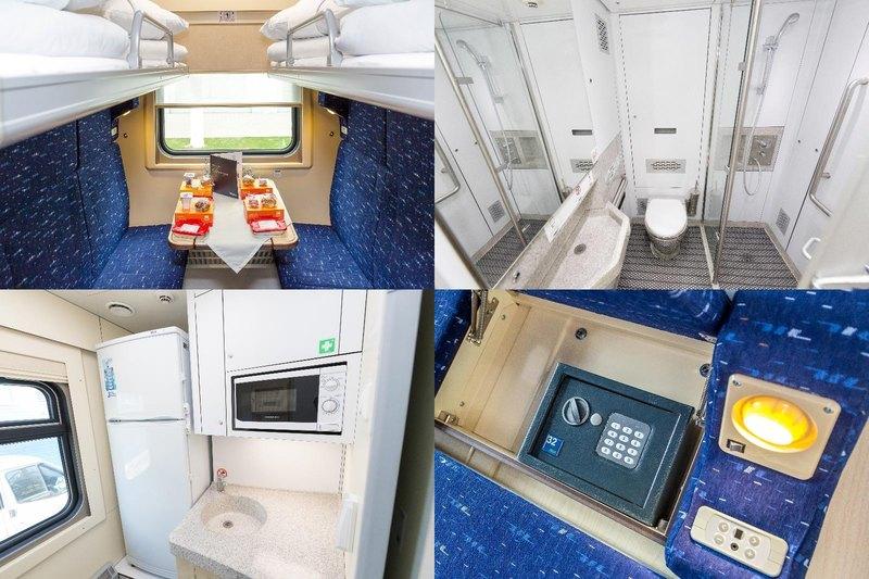РЖД показали новые вагоны с удобствами отеля