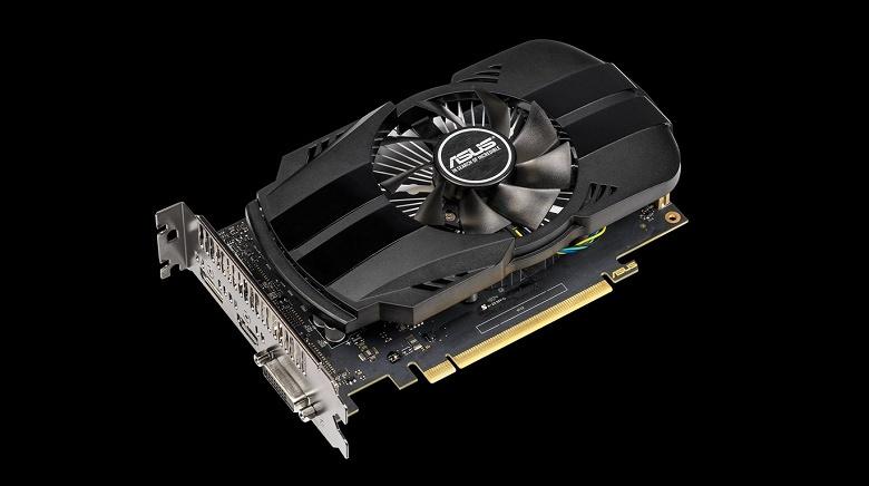 Asus предлагает выбрать одну из семи моделей видеокарты GeForce GTX 1650