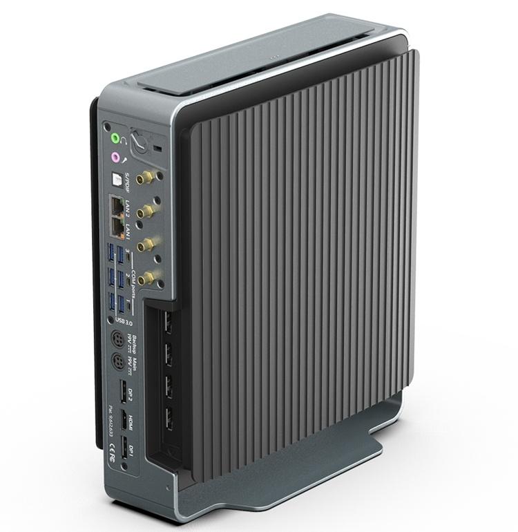Compulab Airtop3: бесшумный мини-ПК с чипом Core i9-9900K и графикой Quadro