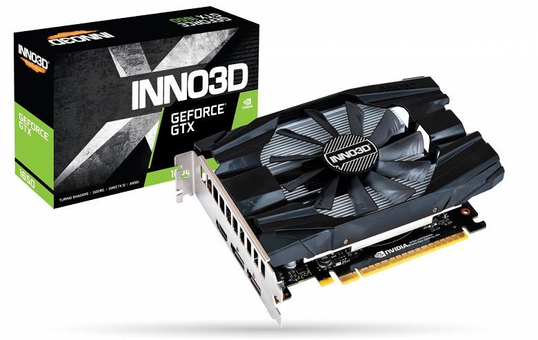 Каталог Inno3D пополнили 3D-карты GeForce GTX 1650 Twin X2 OC и GeForce GTX 1650 Compact
