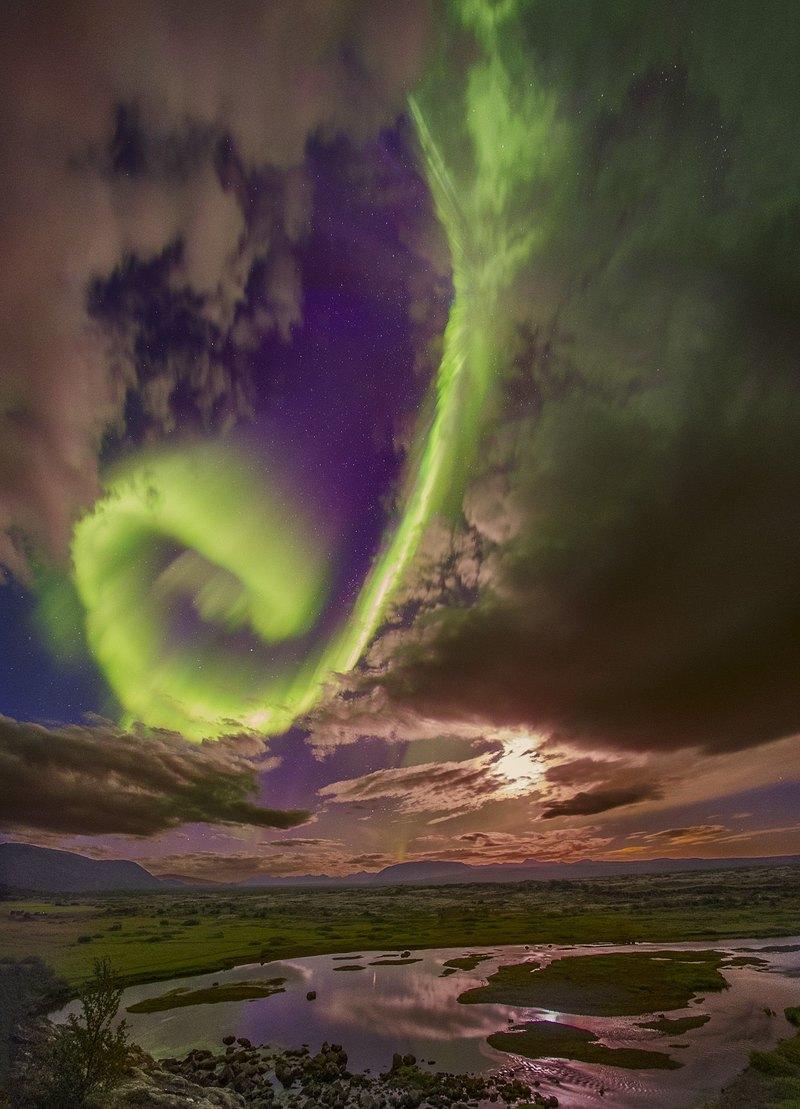 Красота, которая может уничтожить цивилизацию: полярное сияние