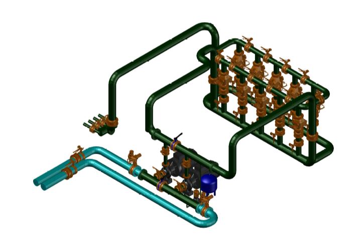 Проектируем спринклерную систему пожаротушения - 1