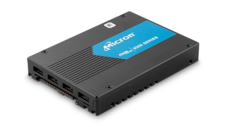 Твердотельные накопители Micron 9300 предназначены для корпоративного сегмента