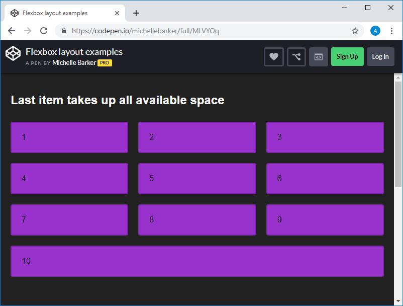 Grid или Flexbox? - 6