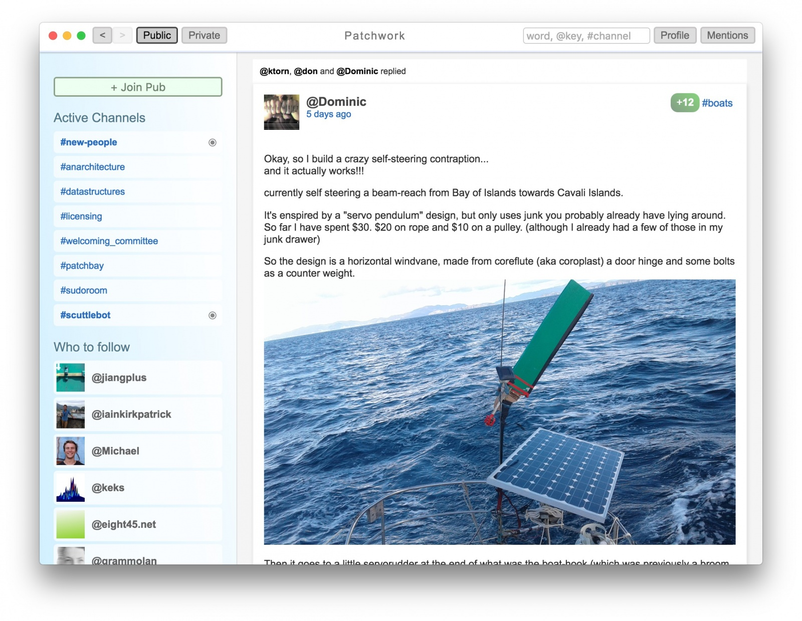Secure Scuttlebutt — p2p социальная сеть, работающая и в оффлайне - 1