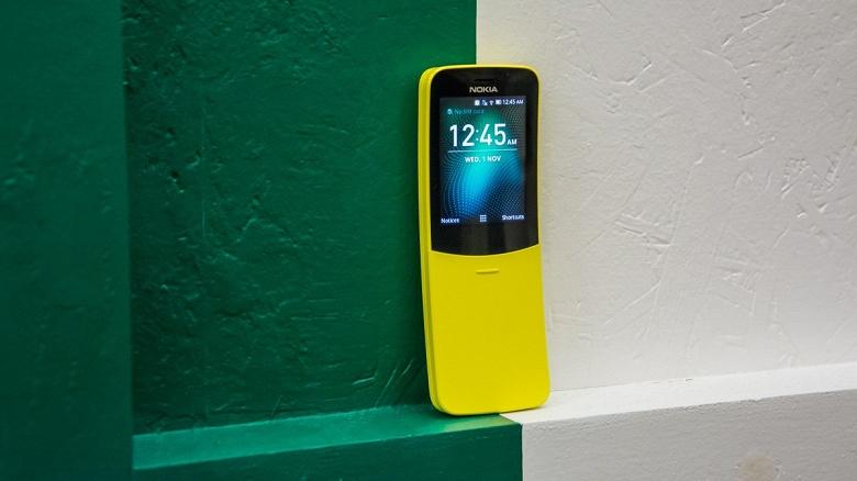 «Бананофон» Nokia 8110 получил глобальную поддержку WhatsApp и Facebook