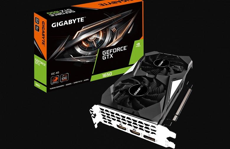 Линейка видеокарт GeForce GTX 1650 компании Gigabyte включает как очень компактную модель, так и хорошо разогнанную