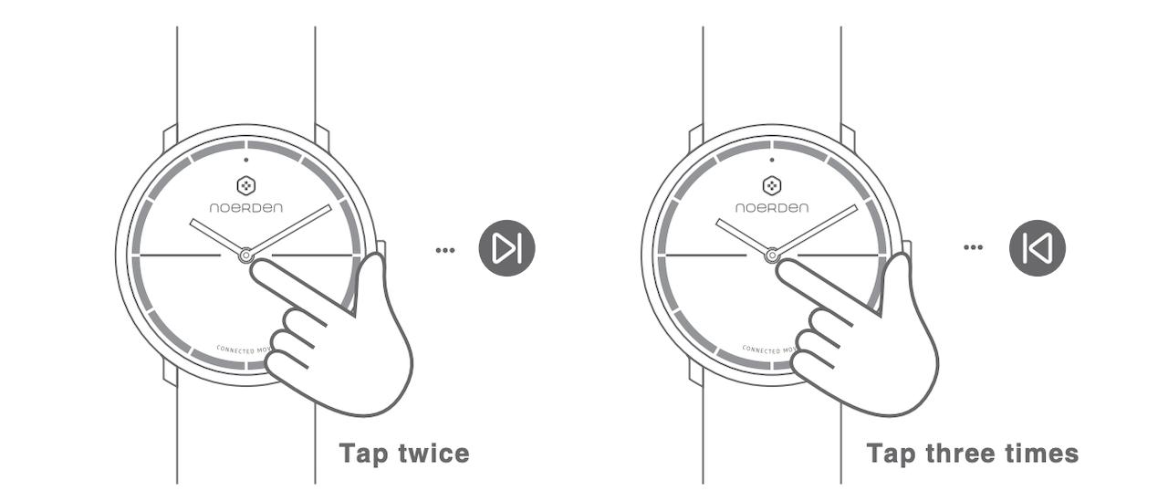 Noerden Life2 — аналоговые часы с «жестовым» управлением и «сенсорным» стеклом - 11