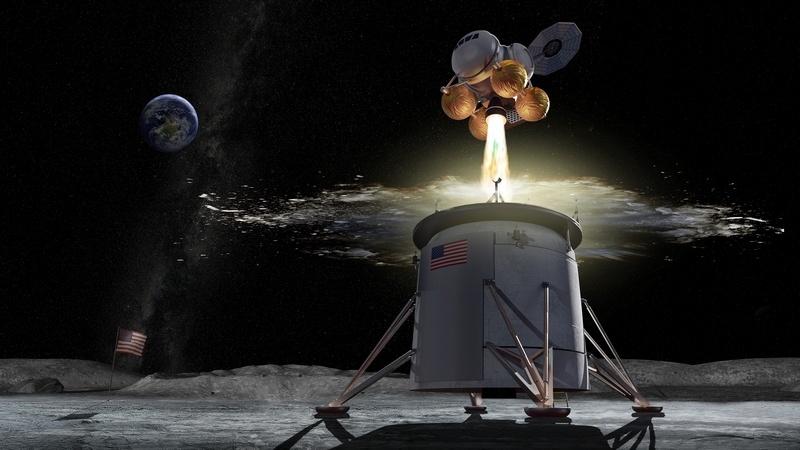 НАСА разместило заказ на разработку пилотируемого лунного лендера до 2025 года - 1