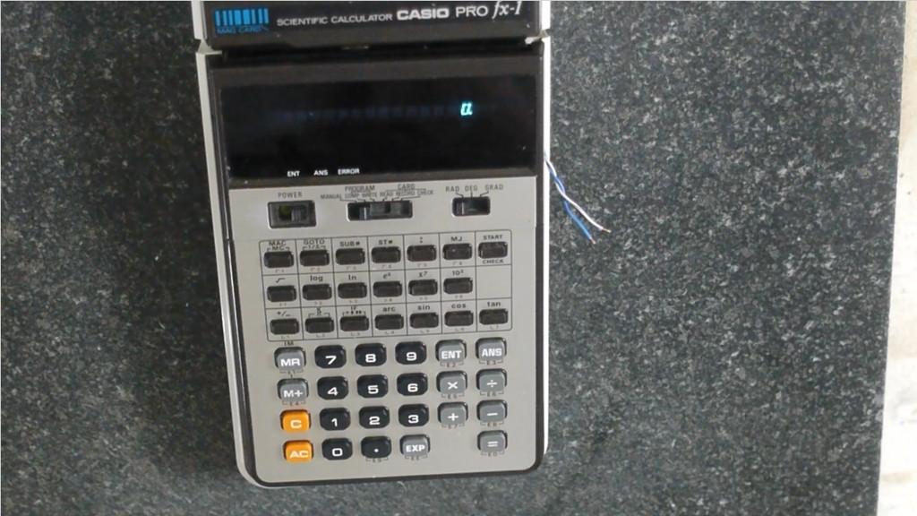 Самодельные магнитные карты для калькулятора Casio PRO fx-1 - 1