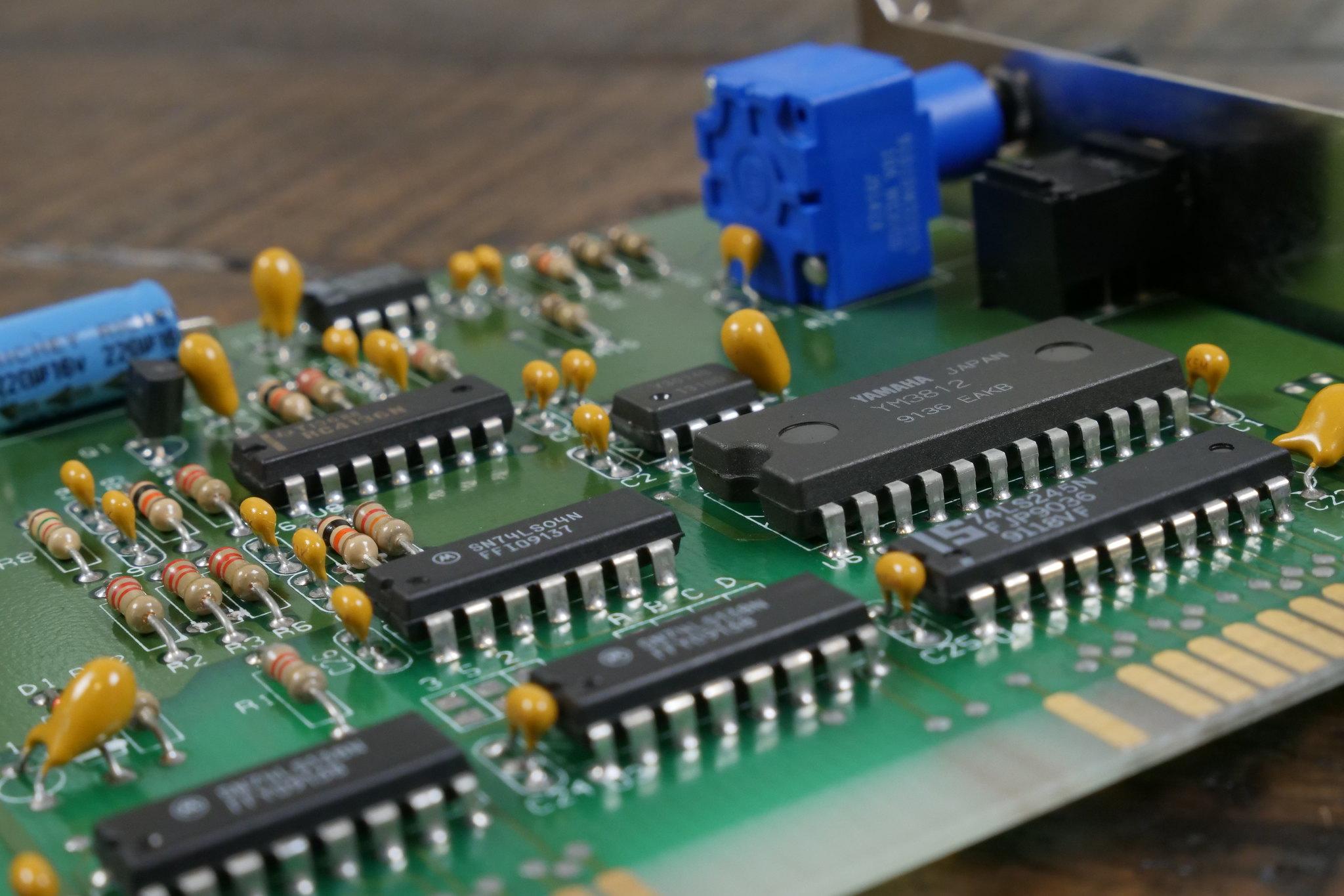 Innovation SSI-2001: история одной из самых редких звуковых карт для IBM PC (и её реплики) - 2