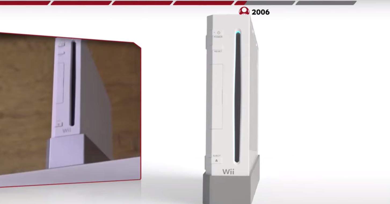 Эволюция игровых консолей Nintendo: видео
