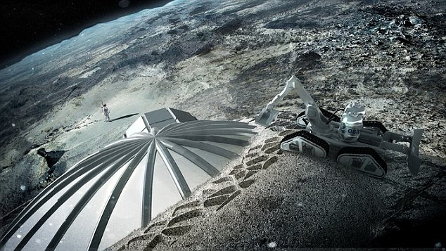 Китай собирается построить космическую станцию на Луне через 10 лет - 1