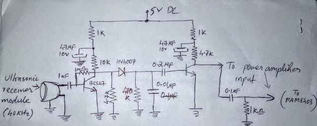Передача звука амплитудной модуляцией ультразвука - 3