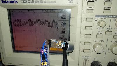 Передача звука амплитудной модуляцией ультразвука - 6