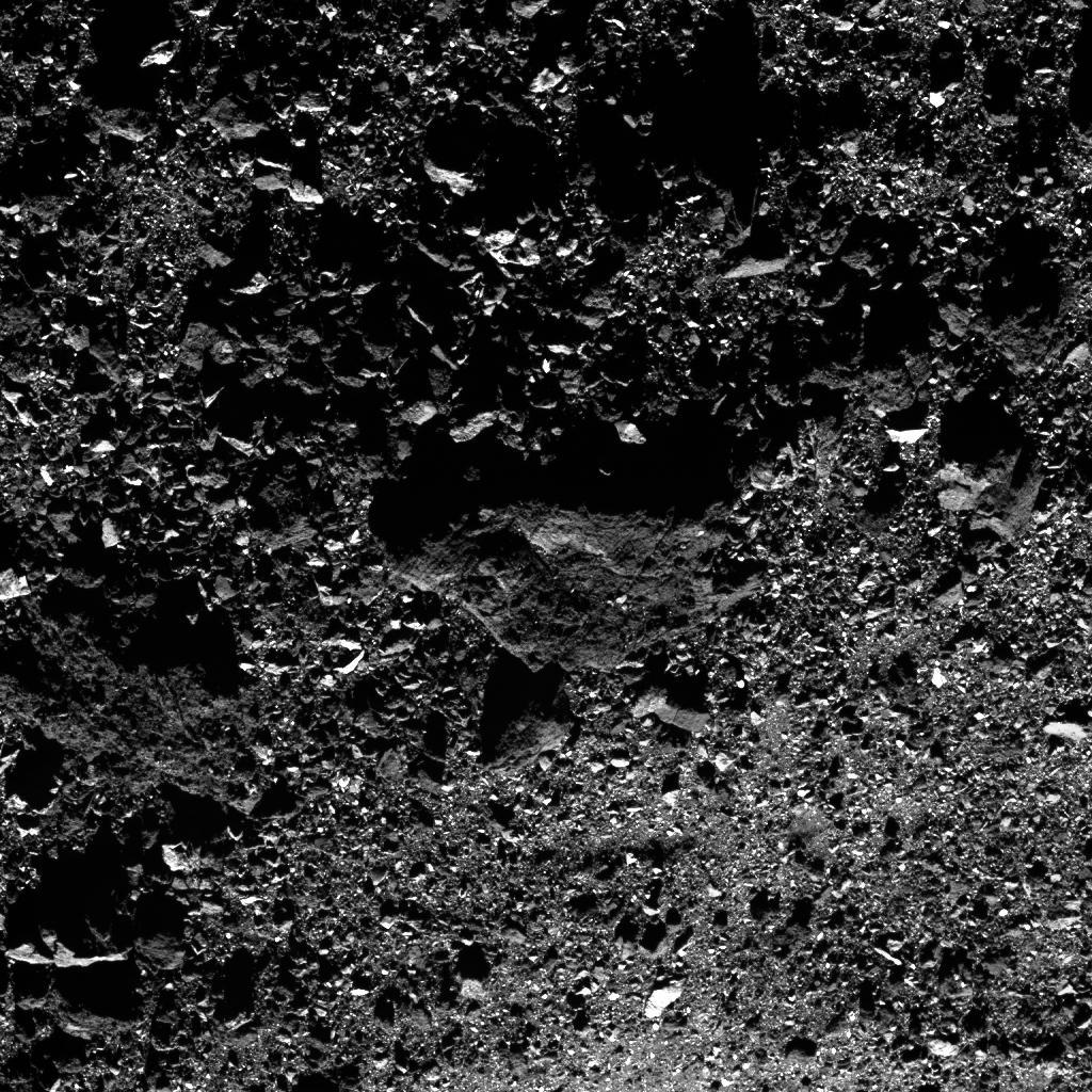 Межпланетная станция OSIRIS-Rex прислала новые фотографии астероида Бенну - 3