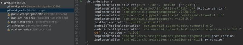 Навигация для Android с использованием Navigation Architecture Component: пошаговое руководство - 4