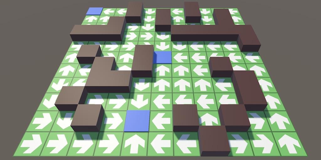 Создание игры Tower Defense в Unity, часть 1 - 1