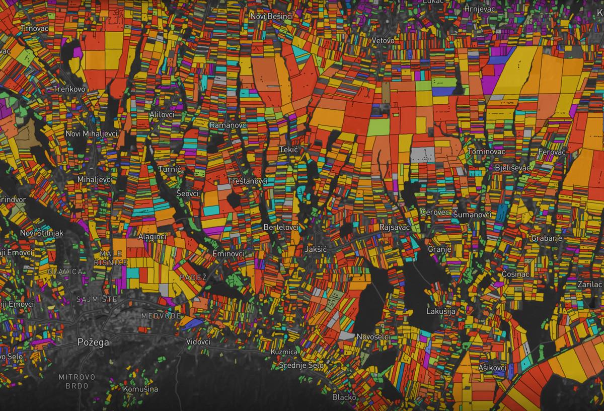 60 миллионов полей и 27 культур. Как мы делали карту всех полей Европы и США - 2