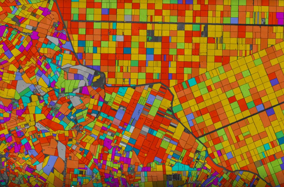 60 миллионов полей и 27 культур. Как мы делали карту всех полей Европы и США - 3