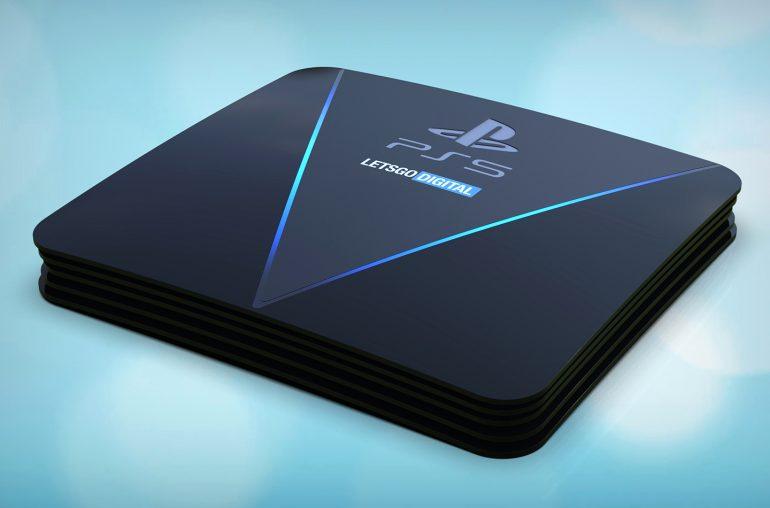 Первые рендеры консоли PlayStation 5