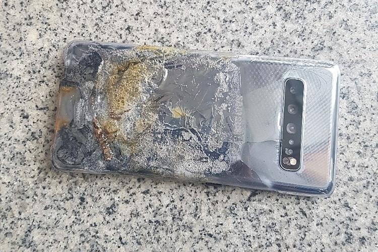 Первый пошёл: зафиксирован случай возгорания флагмана Galaxy S10 5G