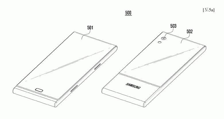 В Samsung придумали, чем хорош смартфон, обернутый гибким дисплеем