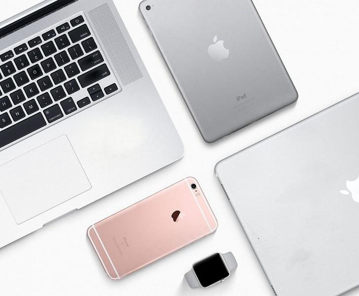 Продажи смартфонов Apple просели на 17,3%, зато поставки планшетов выросли более чем на 20%