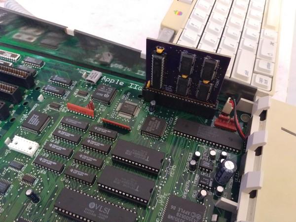 Плата расширения ОЗУ для Apple IIgs - 1