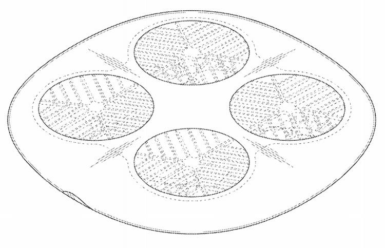 Рассекречен дизайн беспилотников Samsung