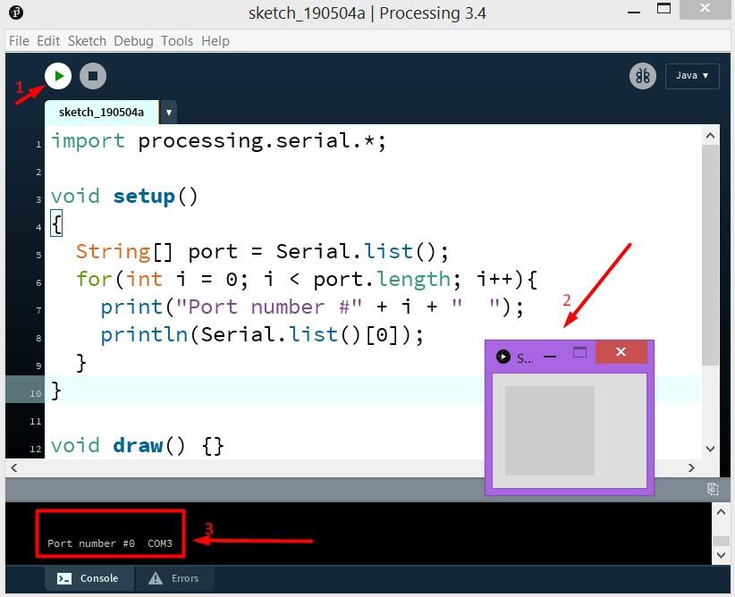 Arduino и Processing. Как управлять микроконтроллером по COM порту. Двустороннее общение - 4