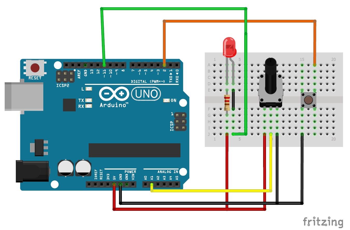 Arduino и Processing. Как управлять микроконтроллером по COM порту. Двустороннее общение - 1