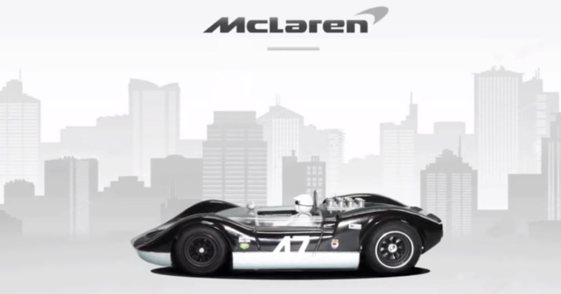 Эволюция автомобилей McLaren: видео