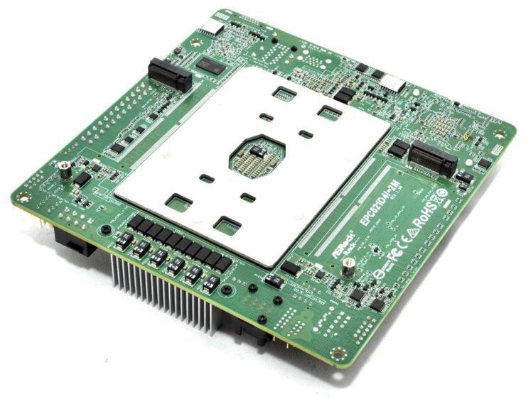 28 ядер в формате Mini-ITX — реальность. Компактная системная плата ASRock EPC621D4I-2M позволяет использовать CPU Intel Cascade Lake-SP