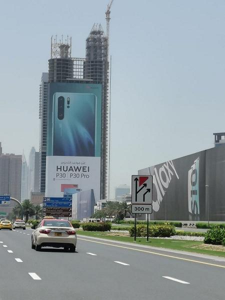 40-этажная реклама Huawei P30 Pro, или Что такое грамотный маркетинг
