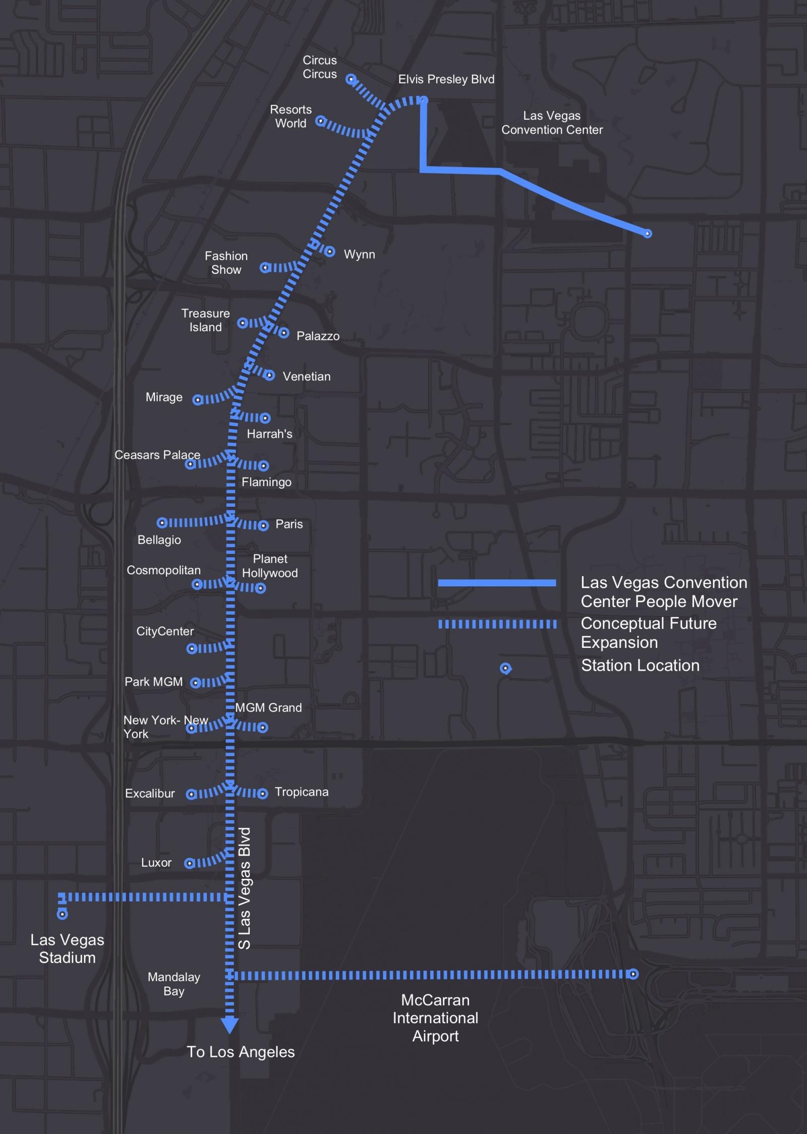 Boring Company выкопает тоннель в Лас Вегасе - 2
