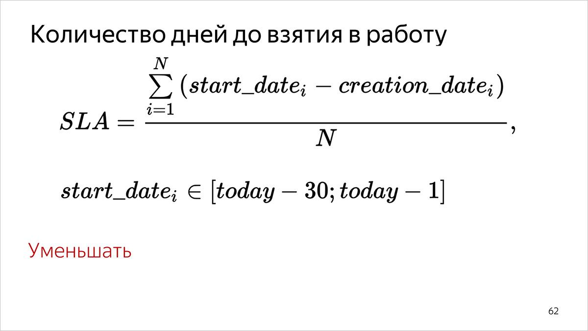 Как мы считаем метрики разработки и поддержки документации. Доклад Яндекса - 10