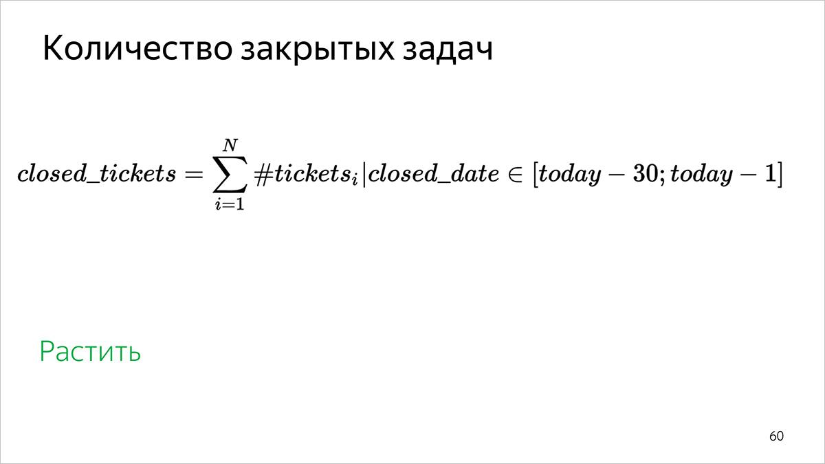 Как мы считаем метрики разработки и поддержки документации. Доклад Яндекса - 8