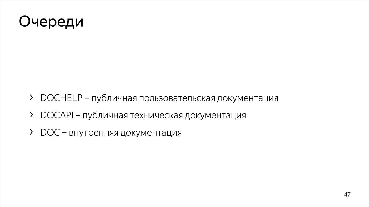 Как мы считаем метрики разработки и поддержки документации. Доклад Яндекса - 1