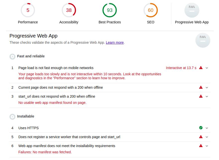 Как сделать из сайта приложение и выложить его в Google Play за несколько часов. Часть 1-2: Progressive Web App - 4