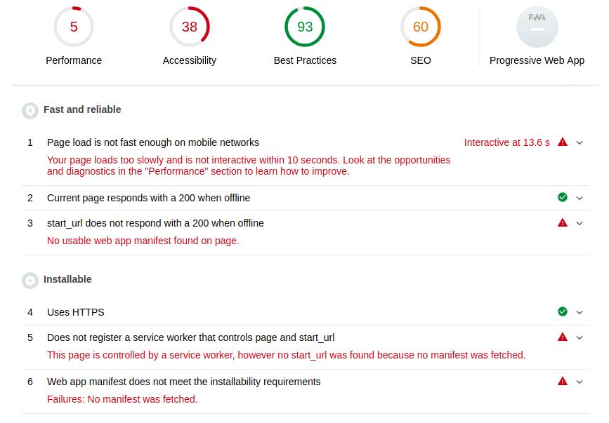 Как сделать из сайта приложение и выложить его в Google Play за несколько часов. Часть 1-2: Progressive Web App - 5
