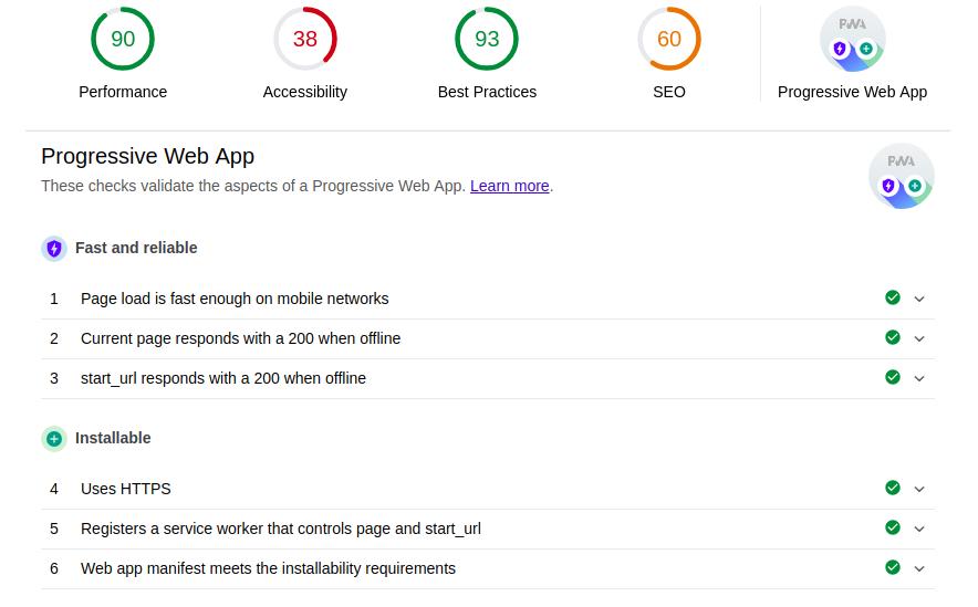 Как сделать из сайта приложение и выложить его в Google Play за несколько часов. Часть 1-2: Progressive Web App - 6