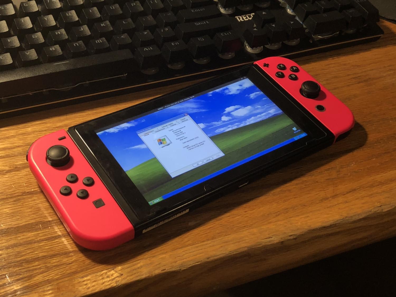 Энтузиасты запустили на Nintendo Switch Windows XP и эмулятор Xbox - 1