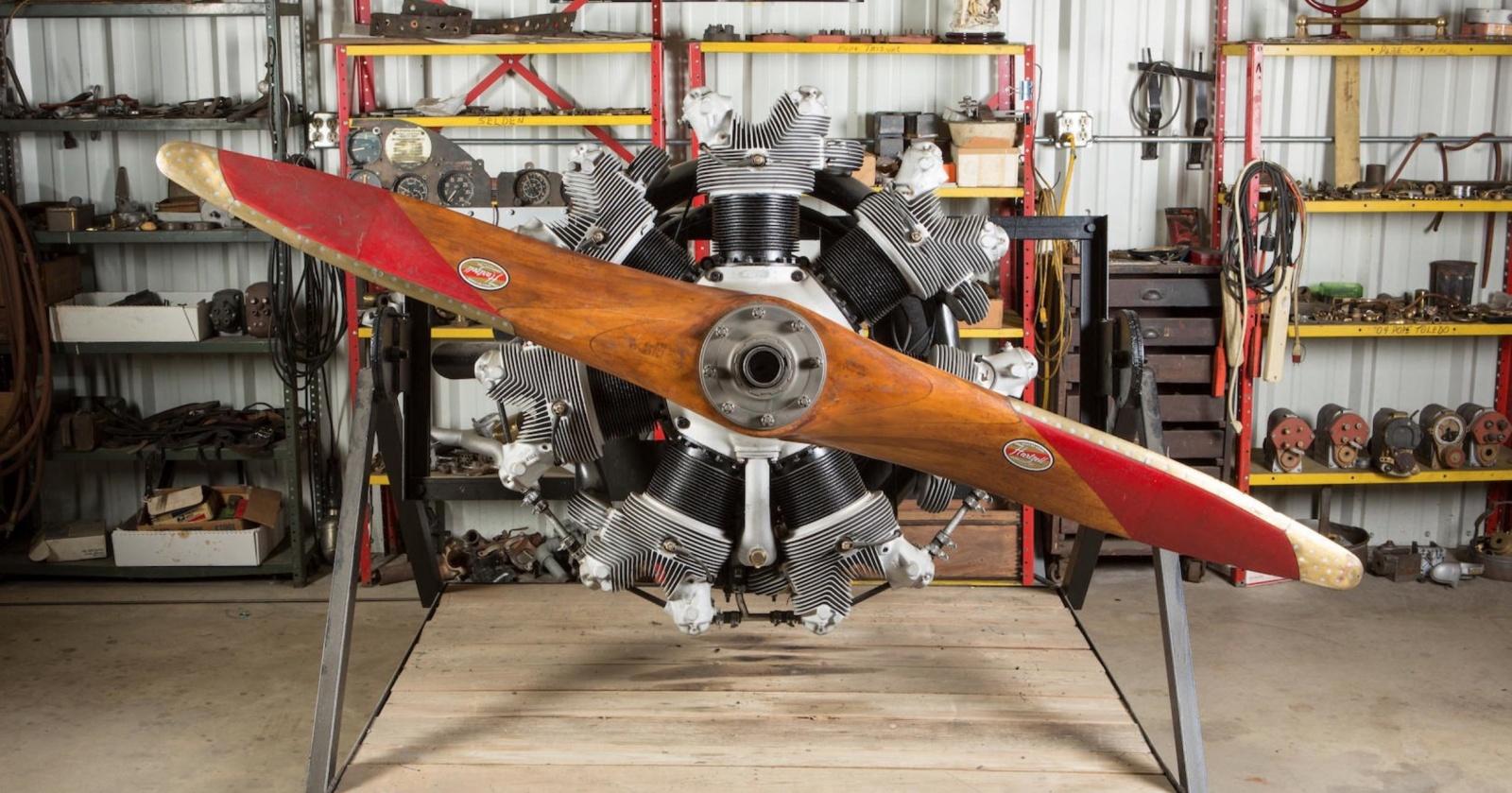 Как устроен радиальный авиационный двигатель