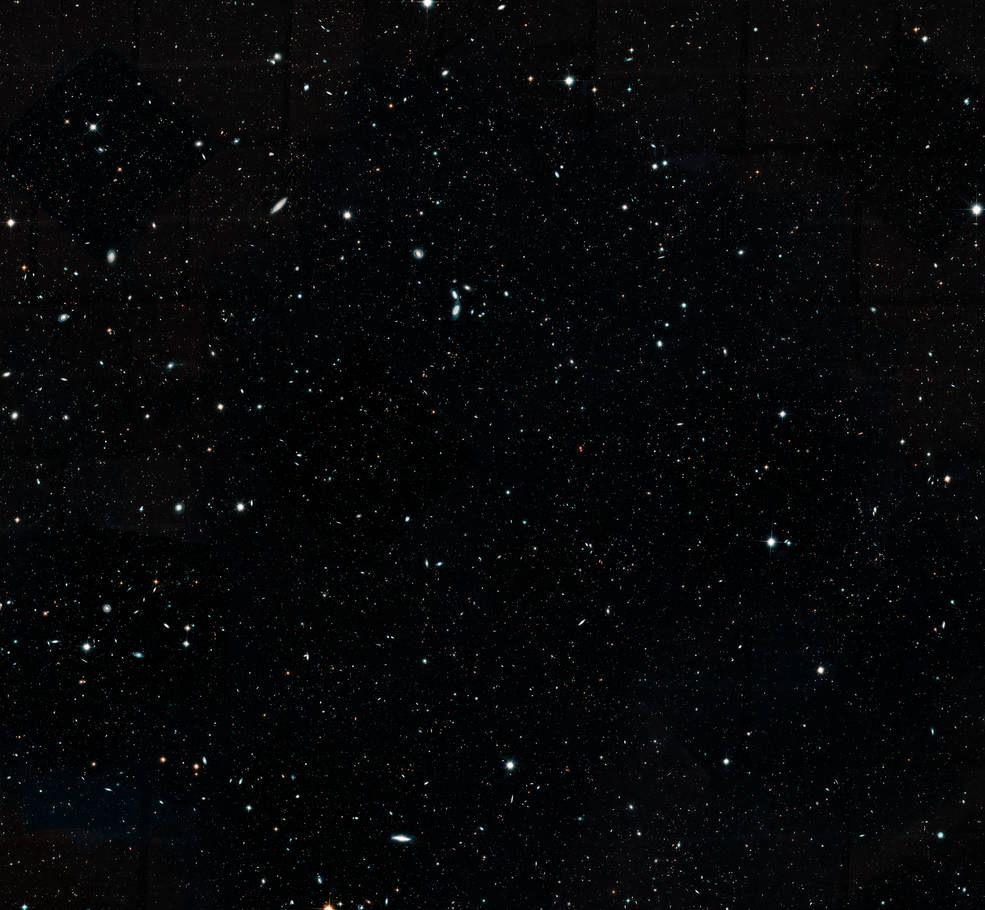 НАСА выложило в сеть самую детальную фотографию участка Вселенной за всю историю - 1
